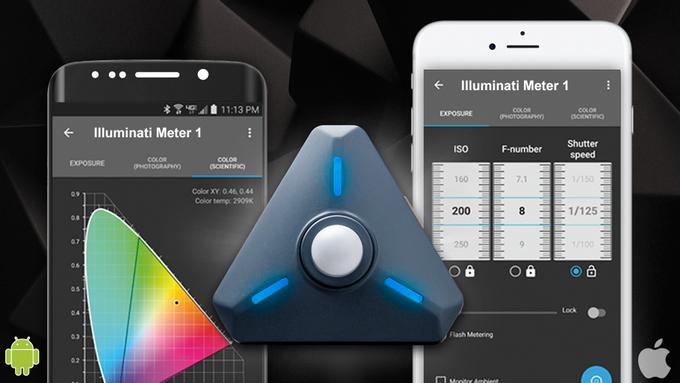 Illuminati Meter, smartphone apps