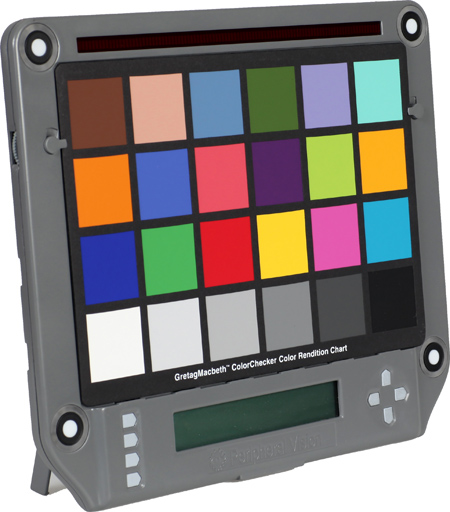 Isolight color chart holder