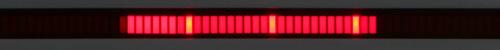 Isolight chart holder, LED chaser display